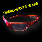 366-035 Cyberbrille rot